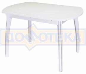 Стол обеденный Реал ПО-1 КМ 04 (6) БЛ 07 ВП БЛ белый