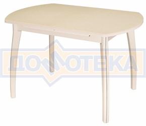Стол обеденный Реал ПО-1 КМ 06 (6) КР 07 ВП КР крем