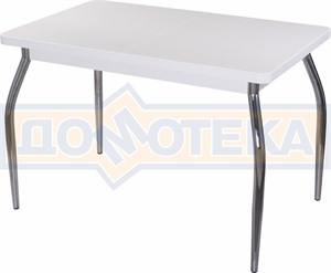 Стол кухонный Реал ПР КМ 04 (6) БЛ 01 белый