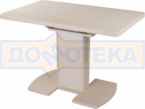 Стол кухонный Реал ПР КМ 06 (6) КР 05 ВП КР/КР КМ 06 крем