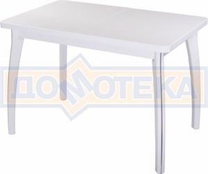 Стол обеденный Реал ПР-1 КМ 04 (6) БЛ 07 ВП БЛ белый