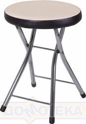 Кухонный табурет Соренто А-1/В-4 светло-бежеый с эффектом замши/венге, повышенной комфортности