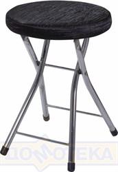 Кухонный табурет Соренто А-4/А-4 черный венге с эффектом замши/повышенной комфортности