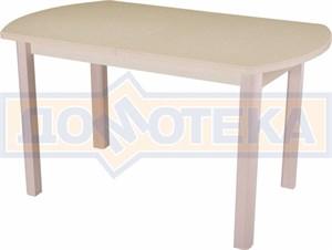 Стол обеденный Реал ПО-1 КМ 06 (6) КР 04 МД крем