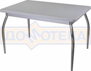 Стол кухонный Реал ПР КМ 07 (6) СР 01 серый