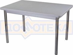 Стол кухонный Реал ПР КМ 07 (6) СР 02 серый