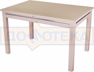 Стол обеденный Бета КМ 06(6) МД 08МД молочный дуб