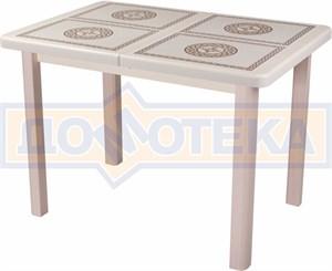 Стол обеденный Шарди ПР ВП КР 04 МД пл52 крем
