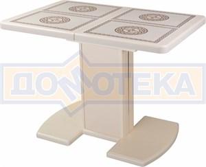 Стол обеденный Шарди ПР ВП КР 05 ВП КР/КР пл52 крем