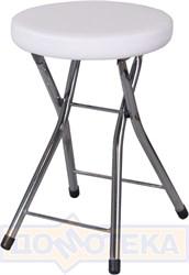 Кухонный табурет Соренто А0/А0, белый с эффектом замши/повышенной комфортности