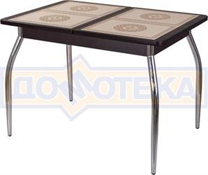 Стол с плиткой - Каппа ПР ВП ВН 01 пл 52 ,венге