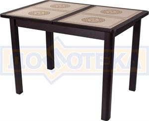 Стол с плиткой - Каппа ПР ВП ВН 04 ВН пл 52 ,венге