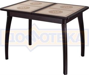 Стол с плиткой - Каппа ПР ВП ВН 07 ВП ВН пл 52 ,венге