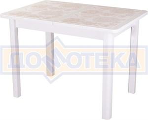Стол с плиткой - Каппа ПР ВП БЛ 04 БЛ пл 32 ,белый