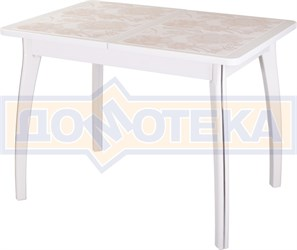 Стол с плиткой - Каппа ПР ВП БЛ 07 ВП БЛ пл 32 ,белый