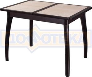 Стол с плиткой - Каппа ПР ВП ВН 07 ВП ВН пл 42 ,венге