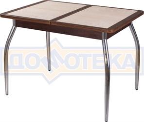 Стол с плиткой - Каппа ПР ВП ОР 01 пл 42 ,орех