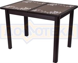 Стол с плиткой - Каппа ПР ВП ВН 04 ВН пл 44 ,венге