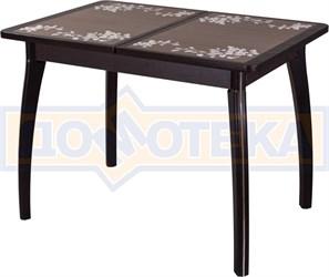 Стол с плиткой - Каппа ПР ВП ВН 07 ВП ВН пл 44 ,венге