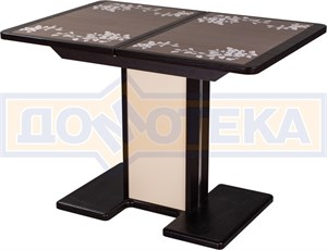 Стол с плиткой - Каппа ПР ВП ВН 05 ВН/КР пл 44 ,венге