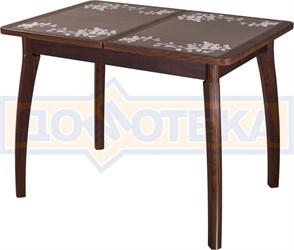 Стол с плиткой - Каппа ПР ВП ОР 07 ВП ОР пл 44 ,орех