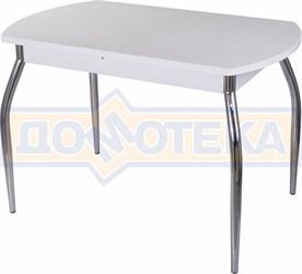 Стол с камнем - Румба ПО КМ 04 БЛ 01 ,белый