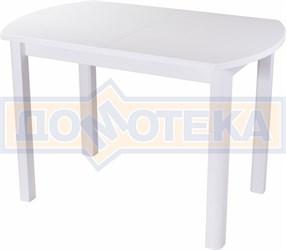 Стол с камнем - Румба ПО КМ 04 БЛ 04 БЛ ,белый