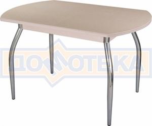 Стол с камнем - Румба ПО КМ 06 МД 01 ,молочный дуб