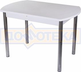 Стол с камнем - Румба ПО-1 КМ 04 БЛ 02 ,белый
