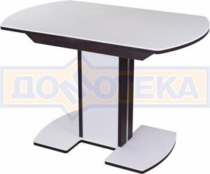 Стол с камнем - Румба ПО-1 КМ 04 ВН 05-1 ВН/БЛ КМ 04 ,венге
