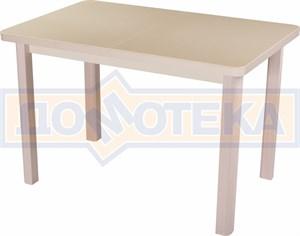 Стол с камнем - Румба ПР КМ 06 МД 04 МД ,молочный дуб