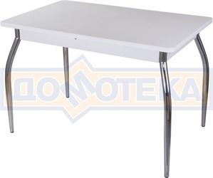 Стол с камнем - Румба ПР-1 КМ 04 БЛ 01 ,белый