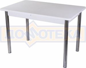 Стол с камнем - Румба ПР-1 КМ 04 БЛ 02 ,белый