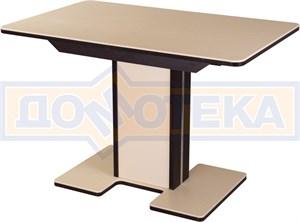 Стол с камнем - Румба ПР-1 КМ 06 ВН 05-1 ВН/КР КМ 06 ,венге