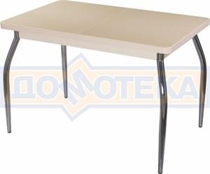 Стол с камнем - Румба ПР-1 КМ 06 МД 01 ,молочный дуб