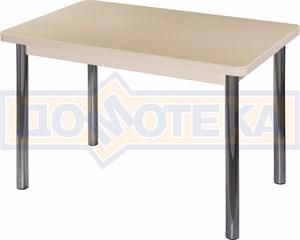 Стол с камнем - Румба ПР-1 КМ 06 МД 02 ,молочный дуб