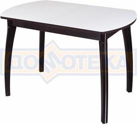 Стол со стеклом - Танго ПО ВН ст-БЛ 07 ВП ВН ,венге