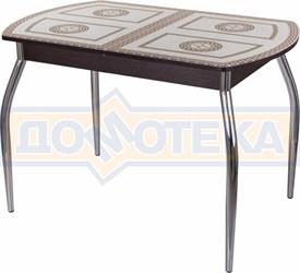 Стол со стеклом - Танго ПО-1 ВН ст-71 01 ,венге