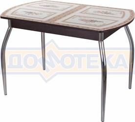 Стол со стеклом - Танго ПО-1 ВН ст-72 01 ,венге
