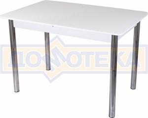 Стол со стеклом - Танго ПР БЛ ст-БЛ 02 ,белый