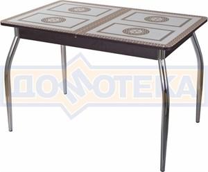 Стол со стеклом - Танго ПР ВН ст-71 01 ,венге