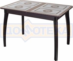 Стол со стеклом - Танго ПР ВН ст-71 07 ВП ВН ,венге