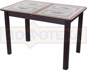 Стол со стеклом - Танго ПР ВН ст-72 04 ВН ,венге