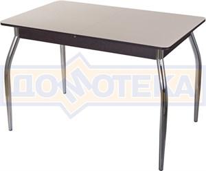 Стол со стеклом - Танго ПР ВН ст-КР 01 ,венге