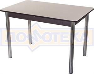 Стол со стеклом - Танго ПР ВН ст-КР 02 ,венге
