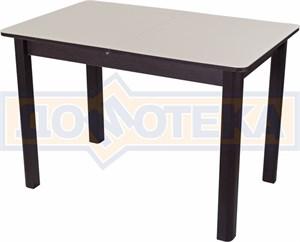 Стол со стеклом - Танго ПР ВН ст-КР 04 ВН ,венге