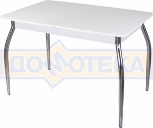 Стол со стеклом - Танго ПР-1 БЛ ст-БЛ 01 ,белый
