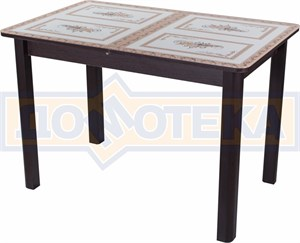 Стол со стеклом - Танго ПР-1 ВН ст-72 04 ВН ,венге
