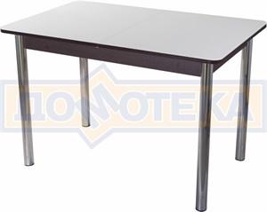 Стол со стеклом - Танго ПР-1 ВН ст-БЛ 02 ,венге