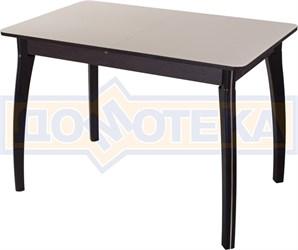 Стол со стеклом - Танго ПР-1 ВН ст-КР 07 ВП ВН ,венге